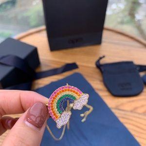 Amp japan rainbow necklace